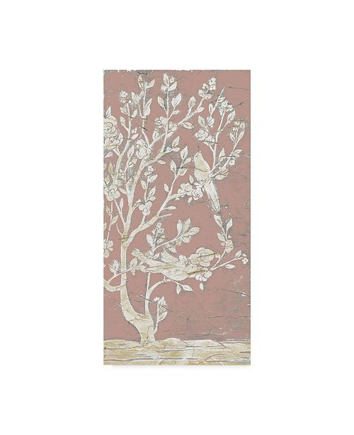 "Trademark Global June Erica Vess Sweet Chinoiserie II Canvas Art - 20"" x 25"""