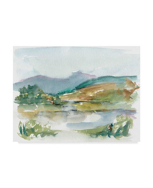 "Trademark Global Ethan Harper Impressionist Watercolor II Canvas Art - 37"" x 49"""