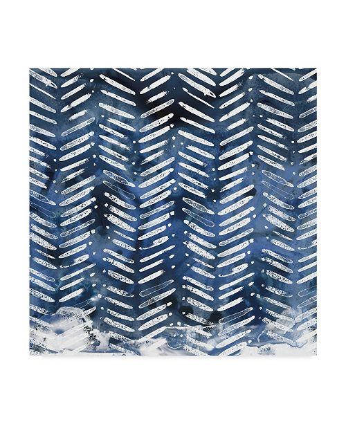 "Trademark Global June Erica Vess Indigo Impression IX Canvas Art - 15"" x 20"""