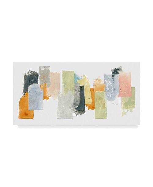 "Trademark Global June Erica Vess Touchstone I Canvas Art - 37"" x 49"""
