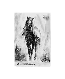 "Ethan Harper Rustic Stallion II Canvas Art - 15"" x 20"""