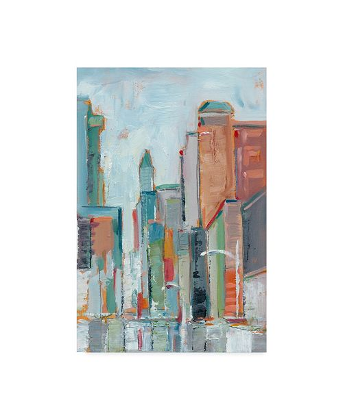"Trademark Global Ethan Harper Downtown Contemporary I Canvas Art - 37"" x 49"""