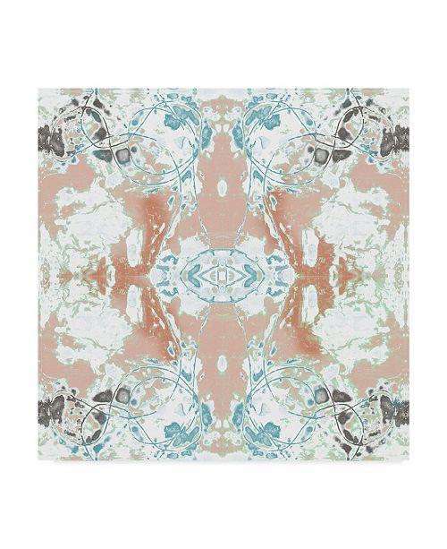 "Trademark Global Jennifer Goldberger Pretty Mirror IV Canvas Art - 15"" x 20"""
