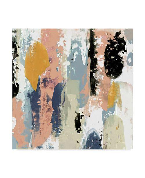 """Trademark Global Jennifer Goldberger Blueberry Swatches II Canvas Art - 27"""" x 33"""""""