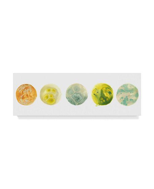"Trademark Global June Erica Vess Planetary VIII Canvas Art - 37"" x 49"""