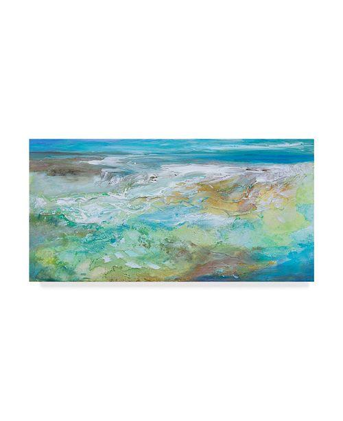 "Trademark Global Sheila Finch Tide Pool Canvas Art - 37"" x 49"""