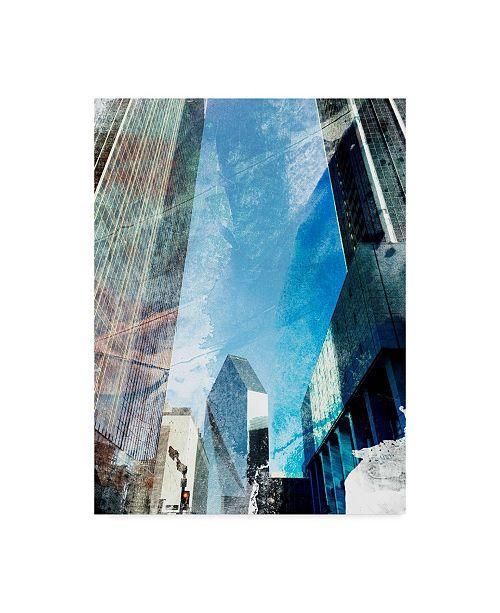 "Trademark Global Sisa Jasper Dallas Architecture II Canvas Art - 37"" x 49"""
