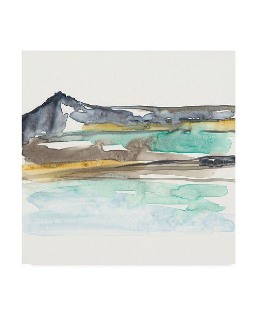 "Trademark Global Jennifer Goldberger Mountains to Sea VII Canvas Art - 15"" x 20"""