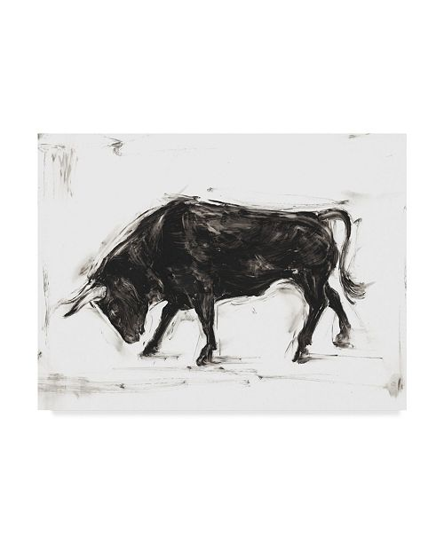 "Trademark Global Ethan Harper Toro I Canvas Art - 20"" x 25"""