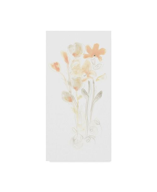 "Trademark Global June Erica Vess Corsage I Canvas Art - 20"" x 25"""