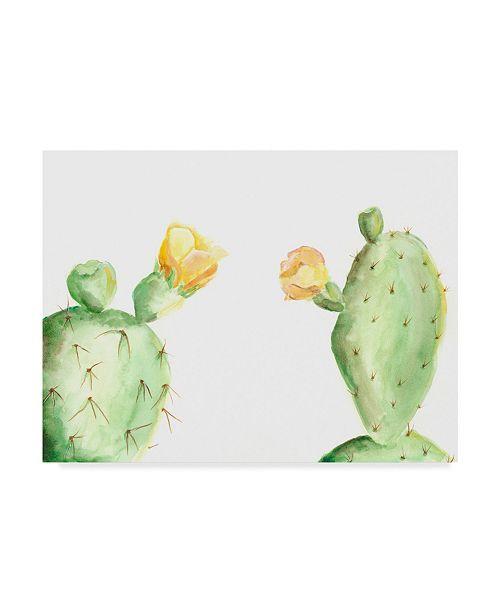 "Trademark Global Regina Moore Spiny Desert Plants I Canvas Art - 37"" x 49"""