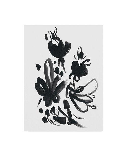 """Trademark Global June Erica Vess Cameo Bloom II Canvas Art - 37"""" x 49"""""""