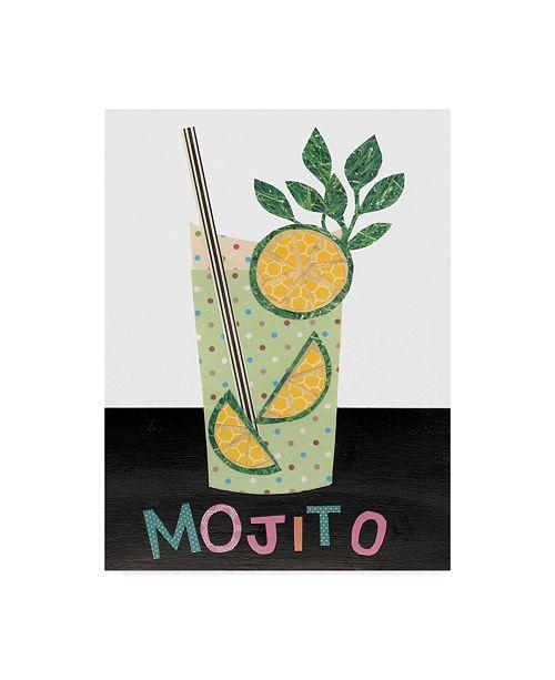 """Trademark Global Regina Moore Mix Me a Drink I Canvas Art - 37"""" x 49"""""""