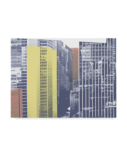 "Trademark Global Jeff Pica Pastel NYC I Canvas Art - 15"" x 20"""