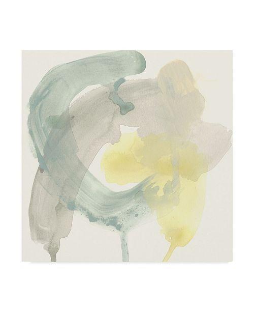 "Trademark Global June Erica Vess Lunar Sunrise II Canvas Art - 15"" x 20"""