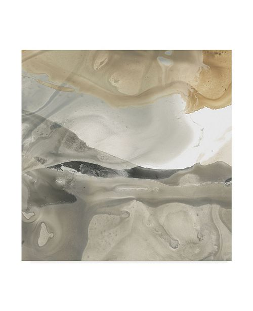 "Trademark Global June Erica Vess Tectonic Drift II Canvas Art - 20"" x 25"""