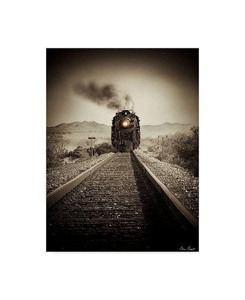 "Trademark Global David Drost Train Arrival II Canvas Art - 20"" x 25"""