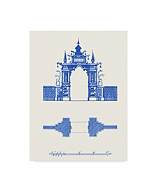 "Vision Studio Pagoda Design III Canvas Art - 20"" x 25"""