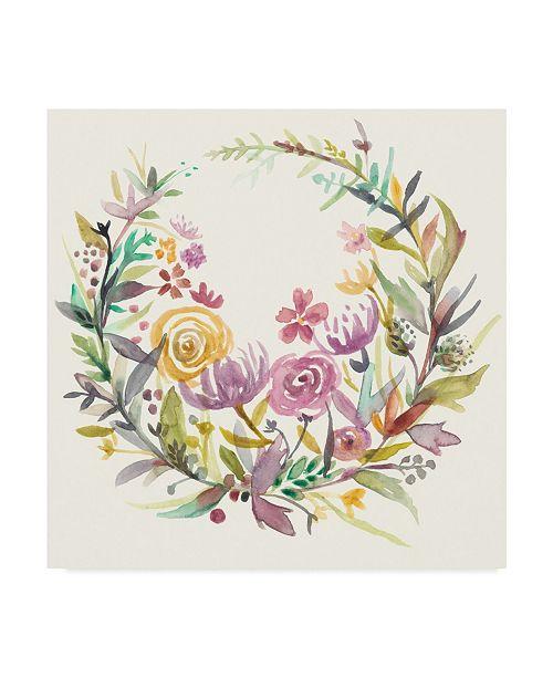 "Trademark Global Chariklia Zarris Mimosa I Canvas Art - 15"" x 20"""