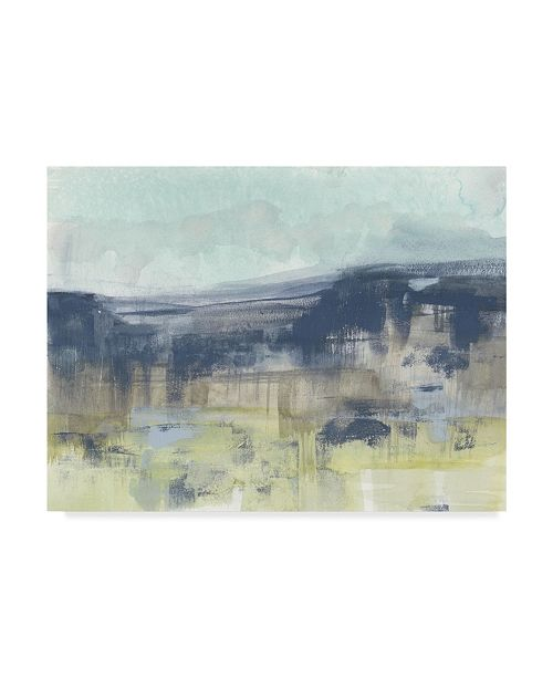 "Trademark Global Jennifer Goldberger Blueberry Hills I Canvas Art - 15"" x 20"""