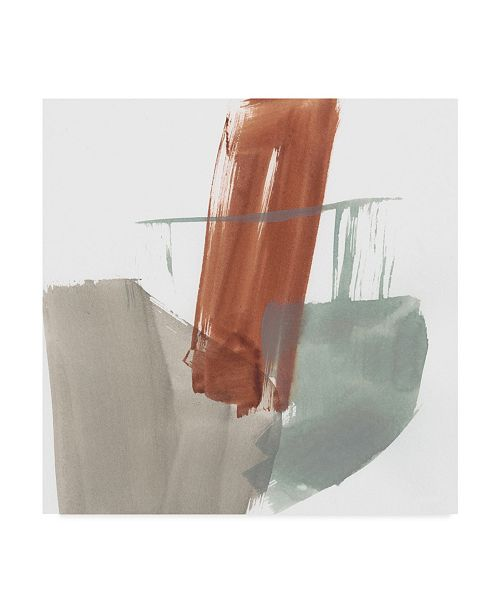 "Trademark Global Jennifer Goldberger Earthy Gestures IX Canvas Art - 20"" x 25"""