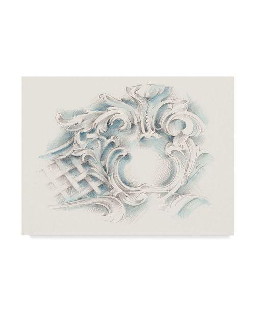"Trademark Global Ethan Harper Acanthus Ornament I Canvas Art - 15"" x 20"""