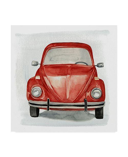 "Trademark Global Jennifer Paxton Parker Classic Autos I Canvas Art - 15"" x 20"""