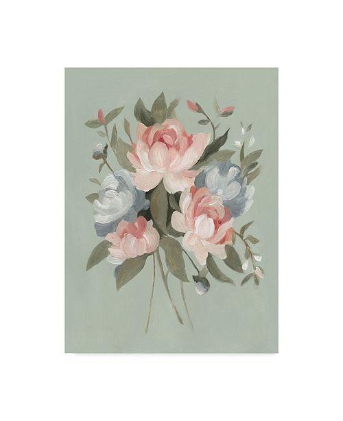 "Trademark Global Emma Scarvey Pastel Bouquet I Canvas Art - 20"" x 25"""