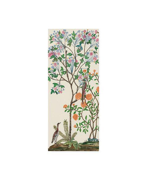 "Trademark Global Melissa Wang Traditional Chinoiserie I Canvas Art - 37"" x 49"""