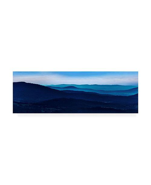 "Trademark Global James Mcloughlin Misty Mountains I Canvas Art - 20"" x 25"""