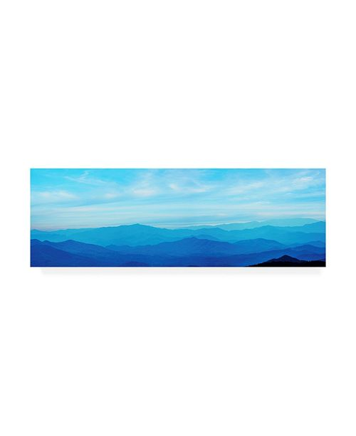 "Trademark Global James Mcloughlin Misty Mountains III Canvas Art - 15"" x 20"""