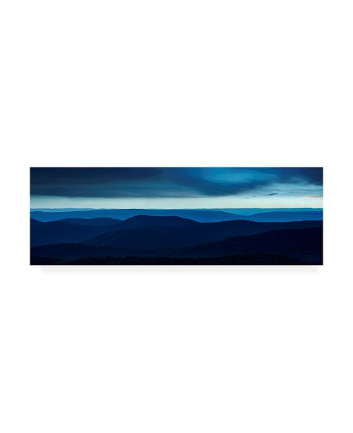 "Trademark Global James Mcloughlin Misty Mountains VI Canvas Art - 20"" x 25"""