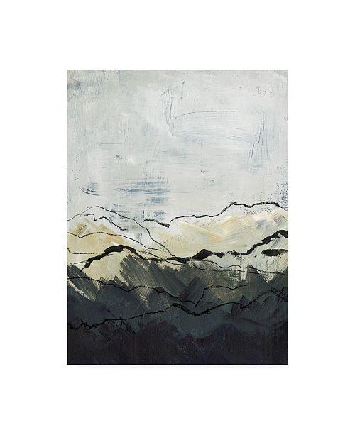 "Trademark Global Jennifer Paxton Parker Winter Mountains I Canvas Art - 20"" x 25"""