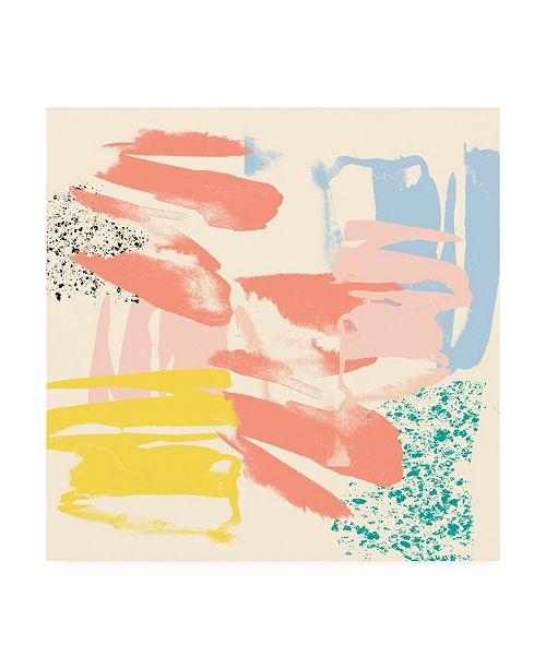 """Trademark Global Jennifer Goldberger Retro Op II Canvas Art - 20"""" x 25"""""""