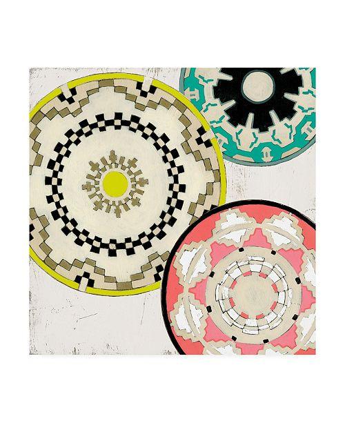 """Trademark Global June Erica Vess Modern Baskets II Canvas Art - 15"""" x 20"""""""