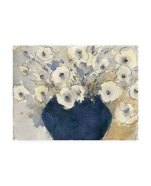 "Trademark Global Samuel Dixon White Blossom Study II Canvas Art - 15"" x 20"""