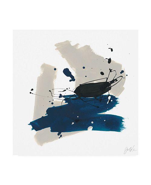 "Trademark Global June Erica Vess Kanji IX Canvas Art - 20"" x 25"""