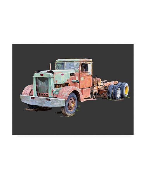 "Trademark Global Emily Kalina Vintage Truck III Canvas Art - 20"" x 25"""