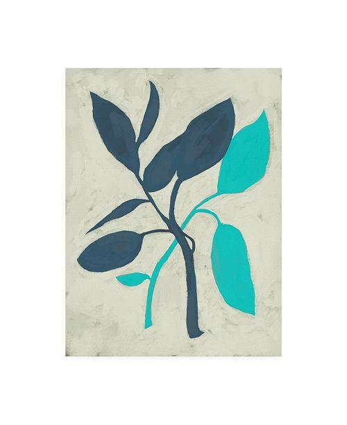 "Trademark Global Chariklia Zarris Tropic III Canvas Art - 20"" x 25"""