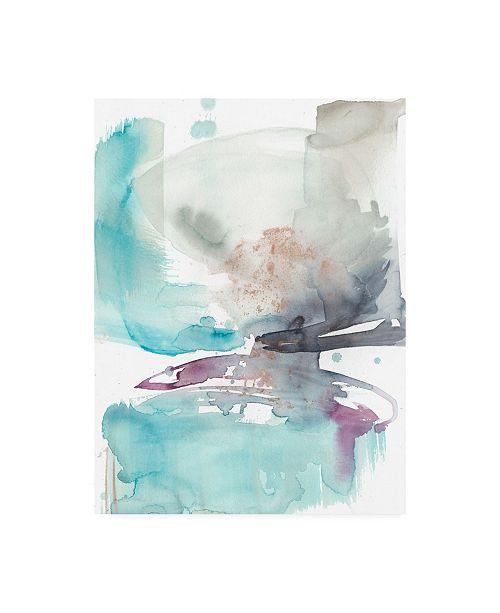 "Trademark Global Jennifer Goldberger Coastline Bloom I Canvas Art - 20"" x 25"""