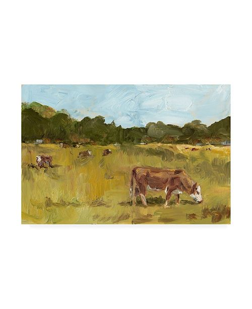 "Trademark Global Ethan Harper Rural View I Canvas Art - 20"" x 25"""