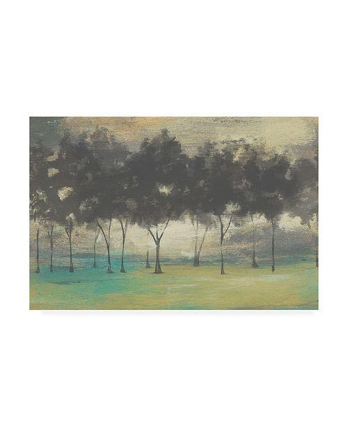 "Trademark Global Jennifer Goldberger Soft Grove I Canvas Art - 15"" x 20"""