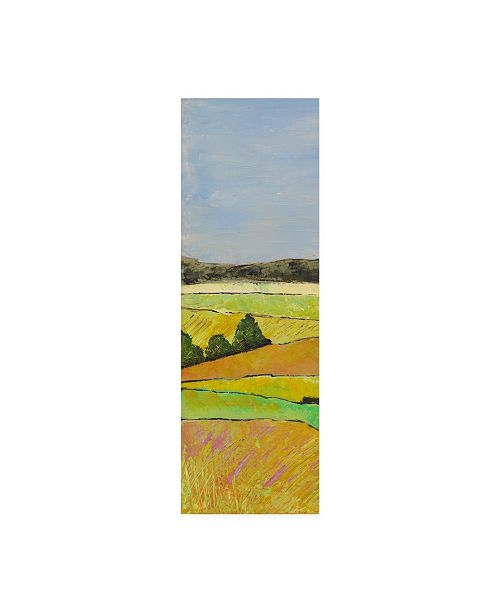 "Trademark Global Mehmet Altug Pastel Hills I Canvas Art - 15"" x 20"""