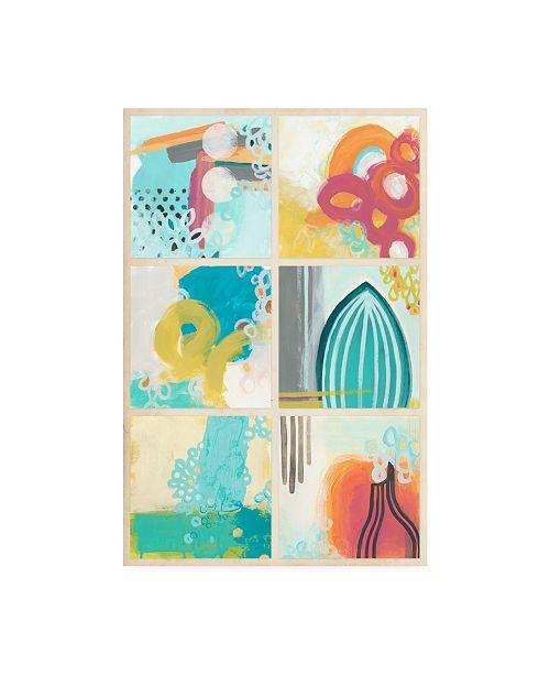 "Trademark Global June Erica Vess Gallery Petite II Canvas Art - 20"" x 25"""