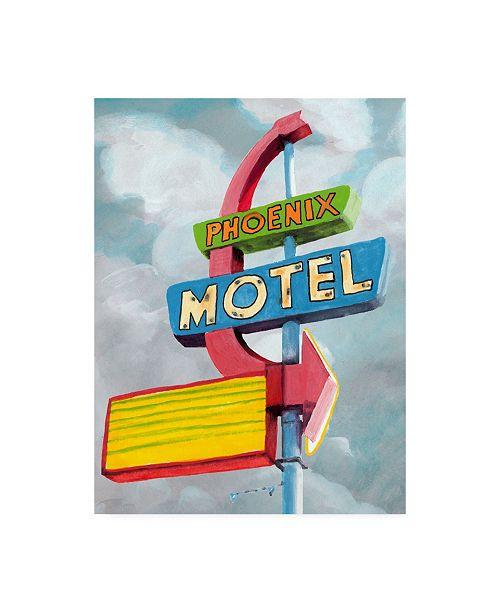 "Trademark Global Naomi Mccavitt American Roadside II Canvas Art - 20"" x 25"""
