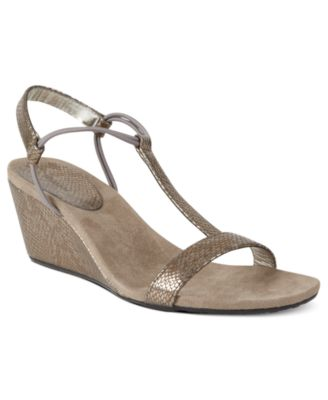 Image of Style & Co Mulan Wedge Sandals, Only at Macy's