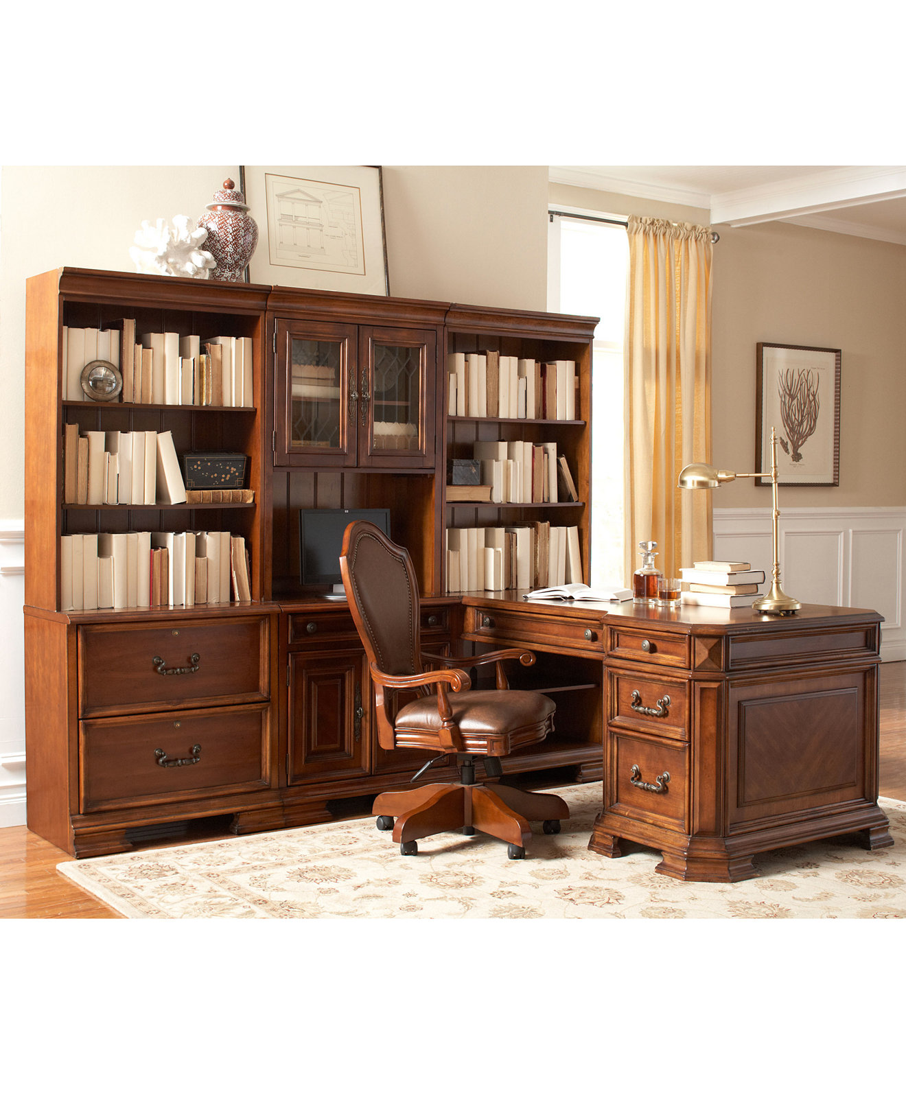 Home Study Furniture Home Office Furniture And Desks Macys