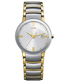 Watch, Women's Swiss Centrix Two-Tone Stainless Steel Bracelet 28mm R30932103
