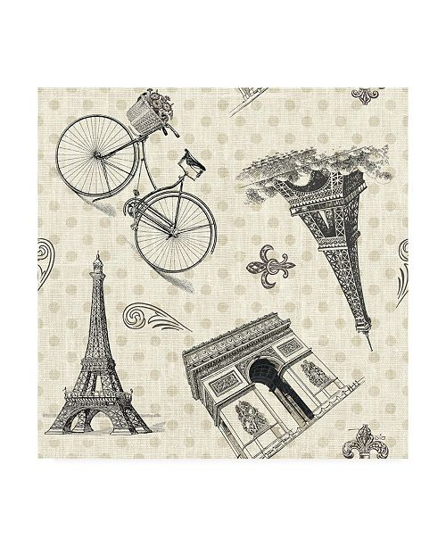 "Trademark Global Pela Studio Paris Farmhouse Pattern IA Canvas Art - 36.5"" x 48"""