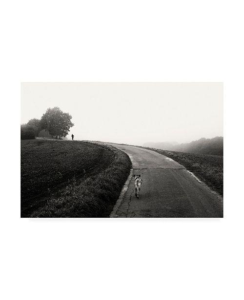 "Trademark Global Elisabeth Wehrmann Runners Canvas Art - 36.5"" x 48"""